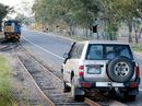 A TOW truck has been called to remove a broken-down four-wheel drive from train tracks on Kent St in Maryborough.