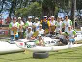 Team Aotearoa took on some of the world's best paddlers to circumnavigate Tahiti in the 166km Tahiti Nui Va'a 2013 race this week. The team included paddlers Paul Roozendaal and Troy Dolman from Tauranga.