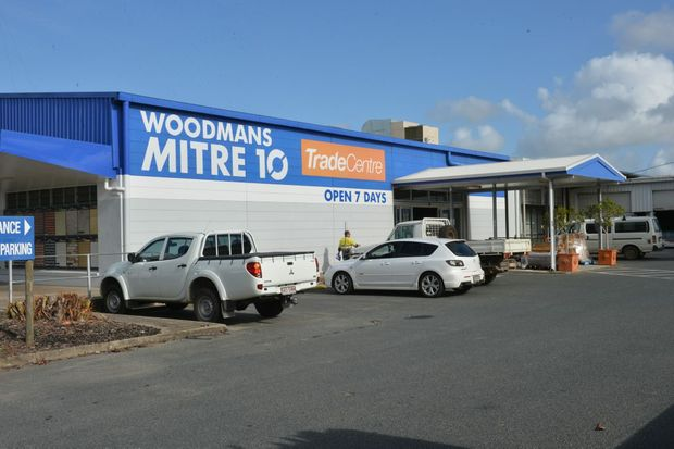 Woodman's Mitre 10 Cannonvale store gets its own renovation (Photo: Dalily Mercury)