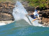 TEEN sensation Kai Hing has had a dream preparation for the upcoming world junior titles – a week spent free surfing with world No.12 Julian Wilson.