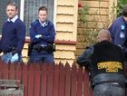 Police raid a James St home believed to have links to the Life and Death outlaw motorcycle gang.
