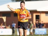 OFFICIAL: Former NRL referee, now politician, Tim Mander will referee the State of Oranges match this weekend.