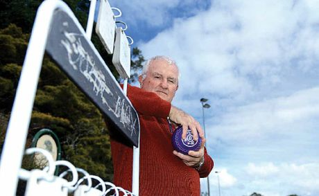 DETERMINED: President of the Lismore Workers Heights Bowling Club Kel Lavis is hopeful the club can fight off closure.