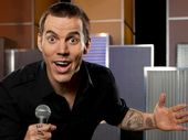 STEVE-O is a surprising character. The former Jackass star is actually quite mellow.