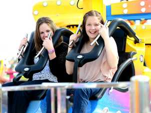 Sideshow alley action at the 2013 Rockhampton Show. Photo Sharyn O'Neill / The Morning Bulletin