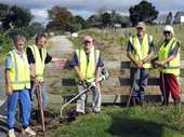 Looking after the Pou Herenga Tai-Twin Coast Cycle Trail is a labour of love for a group of Kaikohe residents.