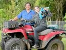 ROUNDING up animals, fixing machinery and cooking breakfast are all in a day's work for Sunshine Coast farmers.