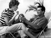 IN JANUARY 1958, Rock Hudson's wife, Phyllis Gates, confronted the Hollywood heartthrob about his homosexuality.