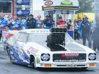 WEST Australian John Zappia and his FUCHS-Striker Monaro had the fans on their feet at Willowbank Raceway on Sunday.