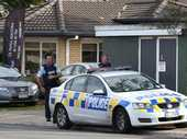 Armed police cordoned off part of a major Tauranga road and the armed offenders squad were on standby after reports of a man with a gun.