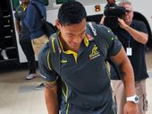 WALLABIES coach Robbie Deans has lauded the big-match credentials of Israel Folau, giving the strongest indication he'll be wearing a Wallabies jumper Saturday.