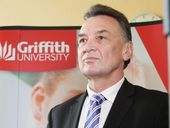 MP Craig Emerson at Griffith University Logan announcing that New Zealanders who grow up in Australia will become eligible for the Higher Education Loan Program (HELP) for tertiary education or vocational training.