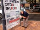 VANDALS this week sabotaged the work of hundreds of Gympie people, who give their time and even their blood to save others.