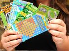 A REDBANK man claimed a $100,000 win after purchasing a $2 scratchie from an Ipswich newsagent.