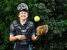 ALISHA Prybyszczuk reckons the biggest challenge to achieving her long-term softball goals are battling nerves.