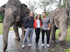THREE stars of famous rock opera Jesus Christ Superstar have visited Australia Zoo.