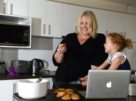 A MUM who wanted to lose her post-baby pounds instead ended up birthing a lucrative online business with influence.