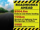 AS THE Pacific Hwy money starts to flow, jobs will follow.