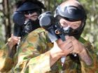 PAINTBALL, Superbikes and The Ipswich Cup ... what more could you ask for on a weekend!