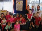 Staff, children and parents of Sandcastles Early Education Centre in Evans Heads dress in red and learn about Natalya's daily routine as she lives with illness.