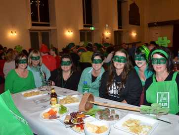 Wild and wacky costumes added to the atmosphere at the South Burnett Autism Group Trivia Night.