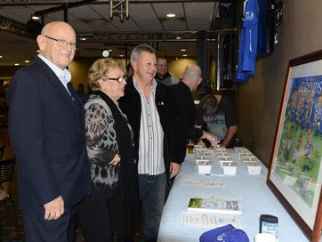 A sell-out crowd attended the Grafton Ghosts Rugby League Club 50th anniversary dinner at the Grafton District Services Club on Saturday night. Photos Debrah Novak / The Daily Examiner