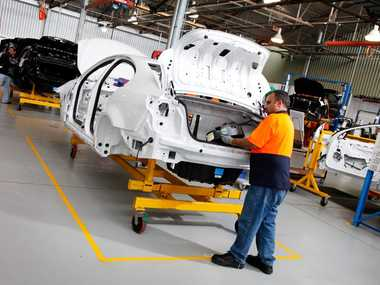 Holden assembly workers are facing wage cuts to keep their jobs.