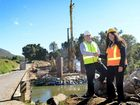 CROSSING the Mary River will soon be safer and easier for Moy Pocket residents, with the $4 million upgrade of Pickering Bridge now underway.