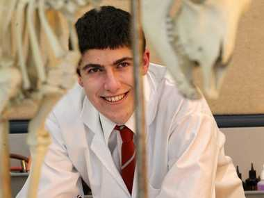 Lindisfarne College head boy Stuart Curran is one of four students selected for the New Zealand biology team competing in Switzerland at the International Biology Olympiad.