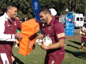 Queensland State of Origin stars come out to play