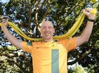 SOCCEROOS fanatic Chris McLeod jumped around his lounge room with joy when he realised he would again watch his beloved team on the world's biggest stage.