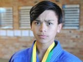 WINNERS: Dean Wright, 14, won a gold medal at the Australian National Judo Championships and his sister Norika, 13, won bronze.