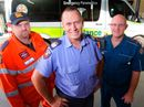HELPING people in their time of need is in Rockhampton firefighter Patrick Mahoney's blood.