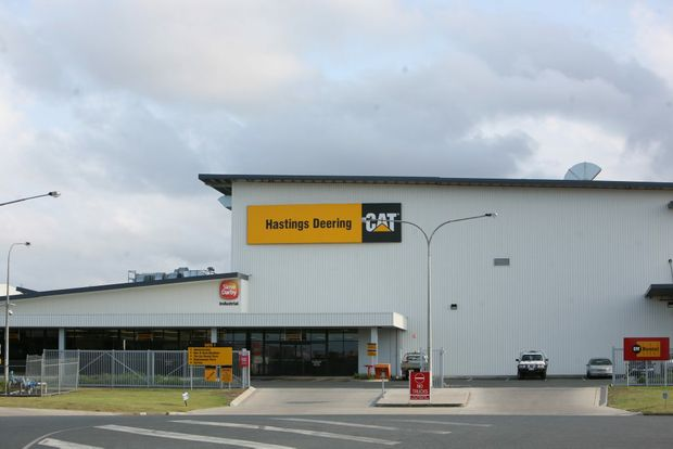 Hastings Deering in Mackay.