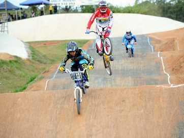 A record turnout hit the track for the Maryborough BMX Classic.