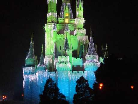 The Magic Kingdom at Disney World, Florida.