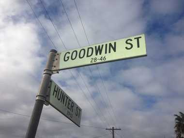 Police are seeking information after the body of a man was found on Goodwin St.
