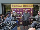 QUEENSLAND coach Mal Meninga says it is 'ludicrious' his eviction from a Brisbane bar has become national news.