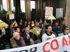 MORE than 100 landowners and supporters are staging a sit-in at Parliament House calling for action to give landowners a fair go against mining giants.