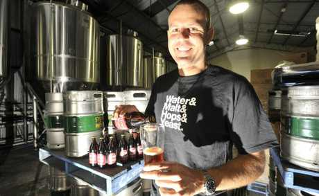 Ross Jurisich, co-founder of Stone and Wood Brewery in Byron Bay.