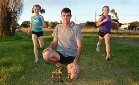 Kirsten, Stephen and Paige O'Connor have excelled in cross country events on the Sunshine Coast.