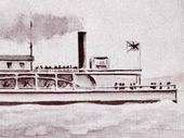 MR George Holt was the originator of the Bremer Steam Navigation Company in the 1850s.