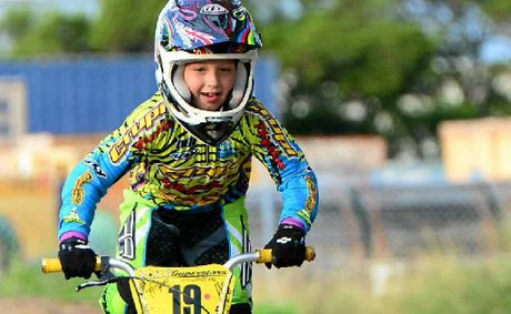 AUSSIE STAR: Jack Weise, 7, of Rockhampton is heading to the world titles for BMX in New Zealand.