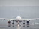 Jet engine explodes on runway