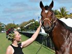 Ashlee English and race horse Savannah Gold hope the sun will stay shining for the biggest race day on Mackay's racing calendar.