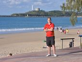 THE watchful eye over Mooloolaba beach will be back within weeks.