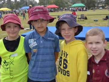 Nanango State School students took to the fields for a day of fast-paced action at the annual athletics carnival.