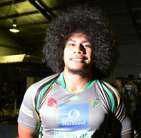 AFRO-LICIOUS: Ipswich Jets player Mahe Paseka submits his entry for best haircut in sport in Ipswich. It takes Phantom back to the halcyon days of Clint Hennelly's rat's tail/mullet. If you know of any that can compare, email a photo to qtsport@qt.com.au.