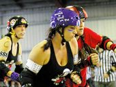 ROLLER derby or wrestling ... plenty of rough and tumble in Ipswich this weekend.