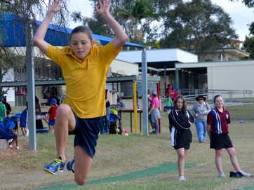 Students from across the North Burnett have donned their school house colours and taken to the fields for their athletics carnivals.
